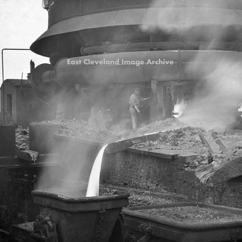 Blast Furnace Slag Glass : Iron steel works « east cleveland image archive