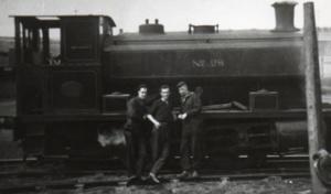 Three Gentlemen In Waiting