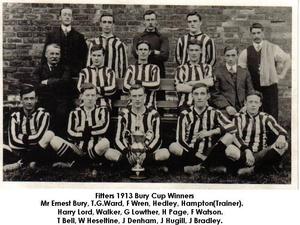 Bury Cup Winners (1912/13)
