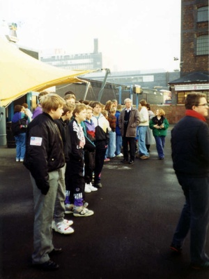 Granada tv Studios, 1991