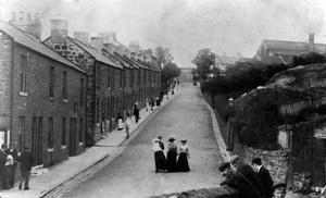 Brotton High Street ca 1900