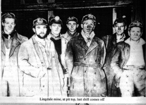 Lingdale Mine - Last Shift