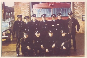 Loftus Fire Station Crew 1970?