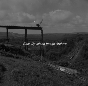 Dismantling Staithes Viaduct