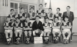 County Modern Football Team 1961