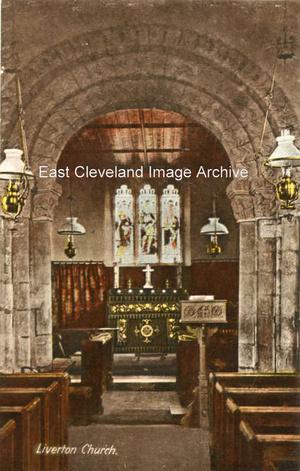 Liverton Church Interior
