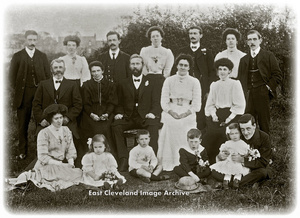 Large Group with 4 Children