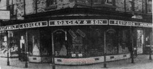 Boagey's shop Redcar