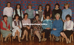 Miss Hogg and Staff, Loftus Infants 1983