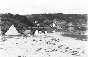 Tents at Runswick