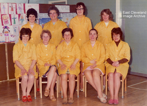 """Dinner Ladies"" Harry Dack Infant School - 1972"