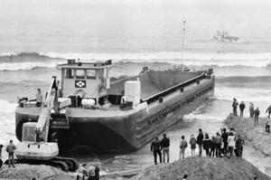 Barge Ashore
