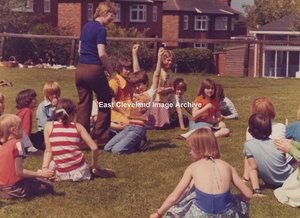 Mrs Shail And Some Pupils - 1974?