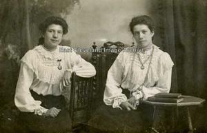 Ada and Georgina Thurlow