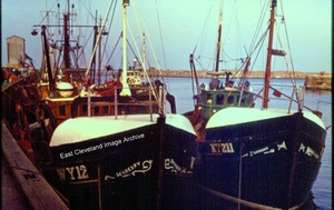 Whitby Fishing Boats 1973