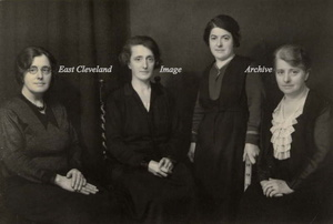 Lucy, May, Agnes and Jessie Glover