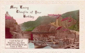 Birthday Greetings from Staithes