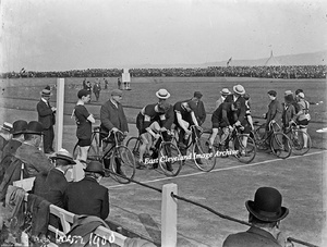 Cycle Races Grangetown - 1900