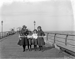 Group on Redcar Pier