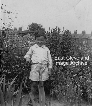 Tony Carter in Charlotte Street allotments