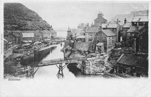 Staithes Beck and Bridge.