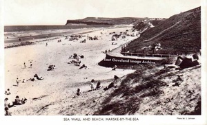Sea wall Marske