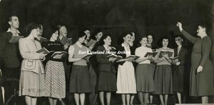 Loftus Youth Club Choir November 1949