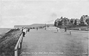 Top promenade at Saltburn