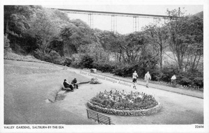 Valley Gardens at Saltburn