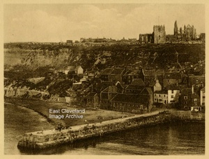 Whitby 5 - East Cliff and Abbey