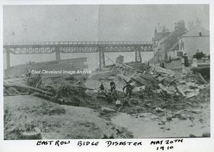 Sandsend East Row Bridge Disaster 1