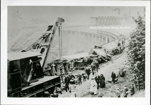 Derailment Liverton Mines Viaduct 1909