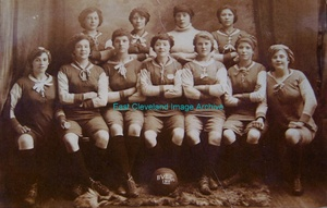 Bolckow Vaughan Ladies Football Team 1918