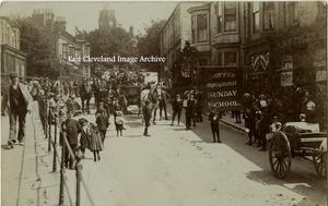 Sunday School Picnic Procession 1906