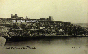 East Cliff and Abbey, Whitby