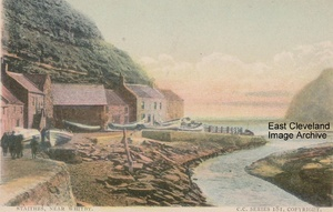Cowbar side at Staithes
