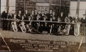 Brotton Temperance Silver Band 1908