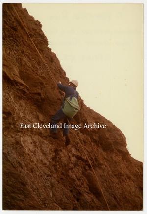'Cliff Rescue Practice - Spring 1982