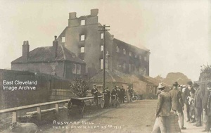 Fire at Ruswarp 1911