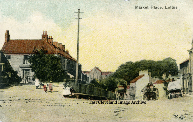 Loftus Market Place_old postcard-001