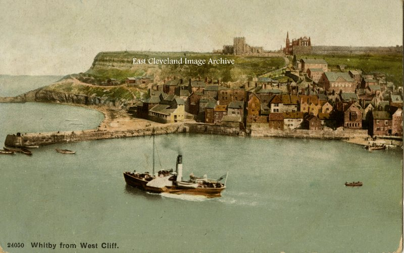 Whitby from West Cliff