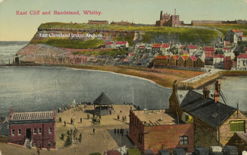 East Cliff and Bandstand, Whitby