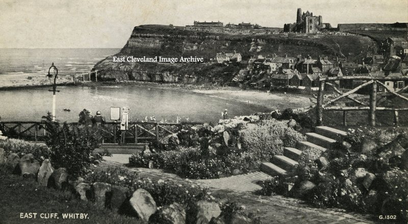 A View of East Cliff, Whitby