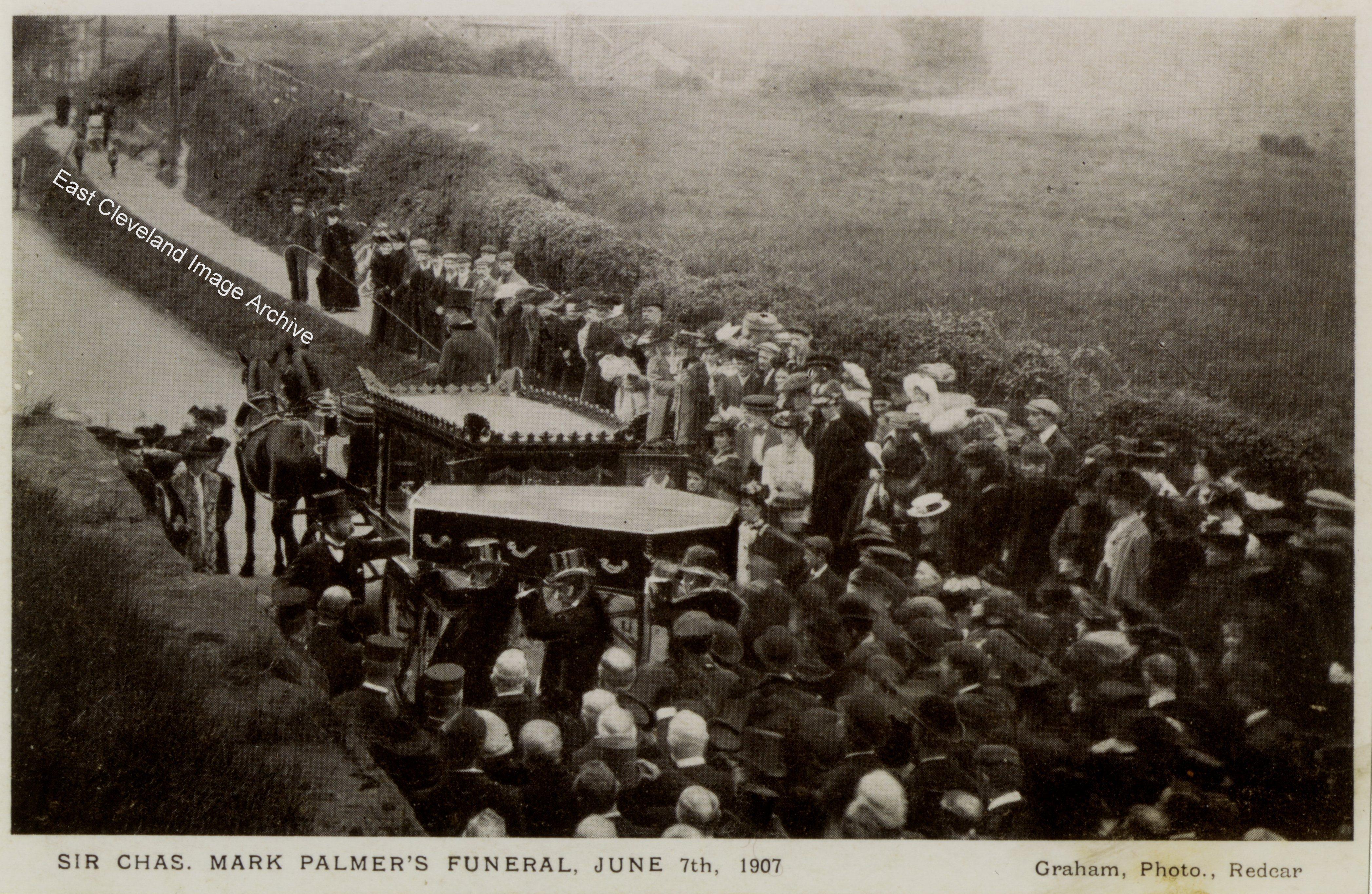 Sir Mark Palmer's Funeral