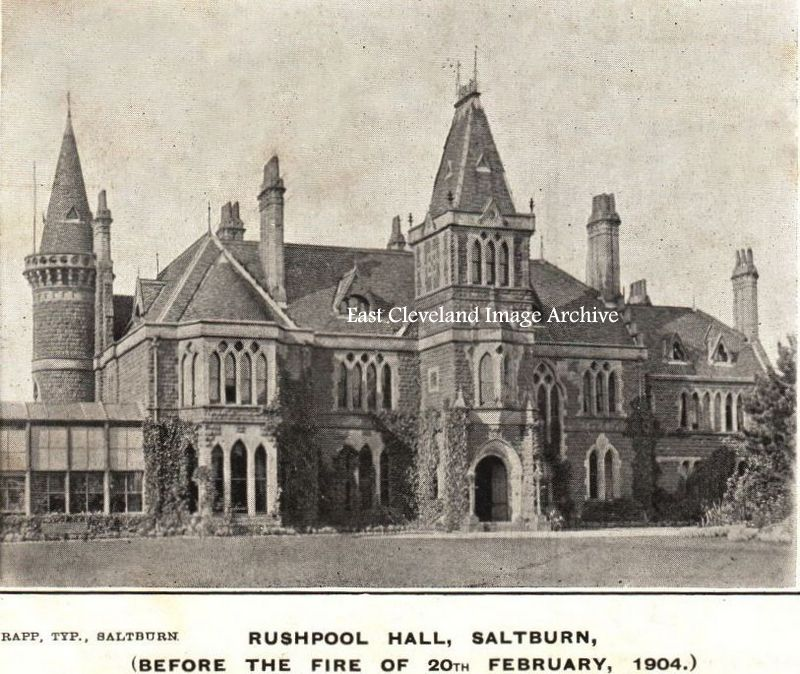 Rushpool Hall before the Fire